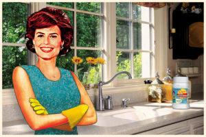 Soda oczyszczona usunie uporczywe osady mineralne w kuchni