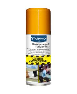 Rozpuszczalnik i odplamiacz 100 ml Starwax treffer