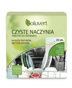 Czyste naczynia Tabletki do zmywarki Soluvert 43436