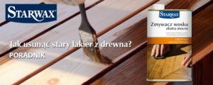 Jak usunąć stary lakier z drewna? Praktyczne porady