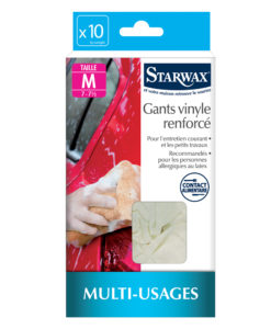 Rękawice winylowe Starwax - rozmiar M
